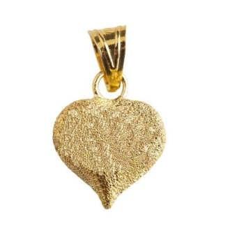 آویز گردنبند طلا 18 عیار زنانه مدل قلب کد MD-004 |