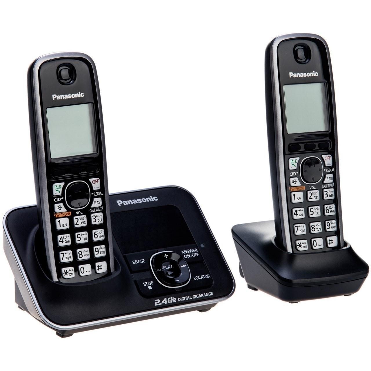 تصویر گوشی تلفن  بی سیم  پاناسونیک Panasonic Cordless Telephone KX-TG3722