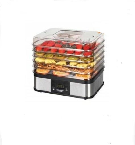 تصویر میوه خشک کن دیجیتالی دلمونتی DL-190 Delmonti Fruit Dryer 350W DL-190 Delmonti Fruit Dryer 350W