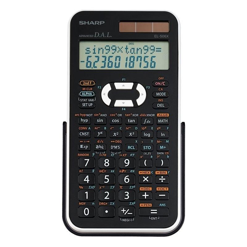 تصویر ماشین حساب  EL_506X whشارپ Sharp calculator EL_506X wh