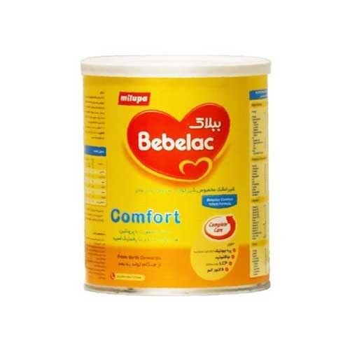 تصویر شیرخشک کامفورت از هنگام تولد به بعد comfort میلوپا ببلاک ۴۰۰ گرم Bebelac Milupa comfort Milk Powder 400 gr