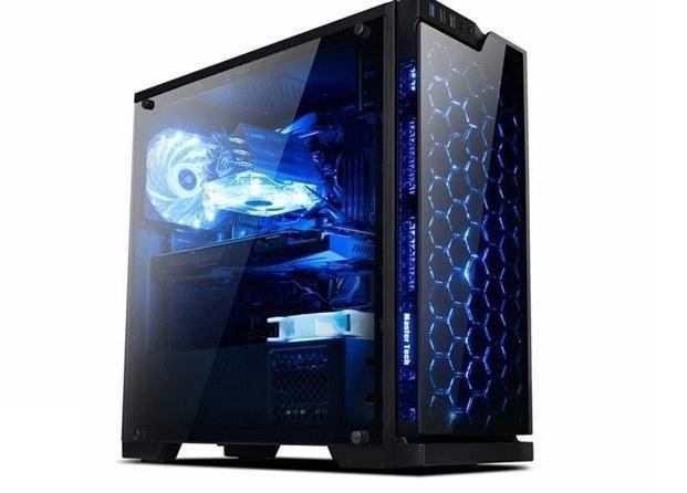 تصویر کیس کامپیوتر مسترتک مدل تی ۳۰۲ Master Tech T302 Mid Tower Computer Case