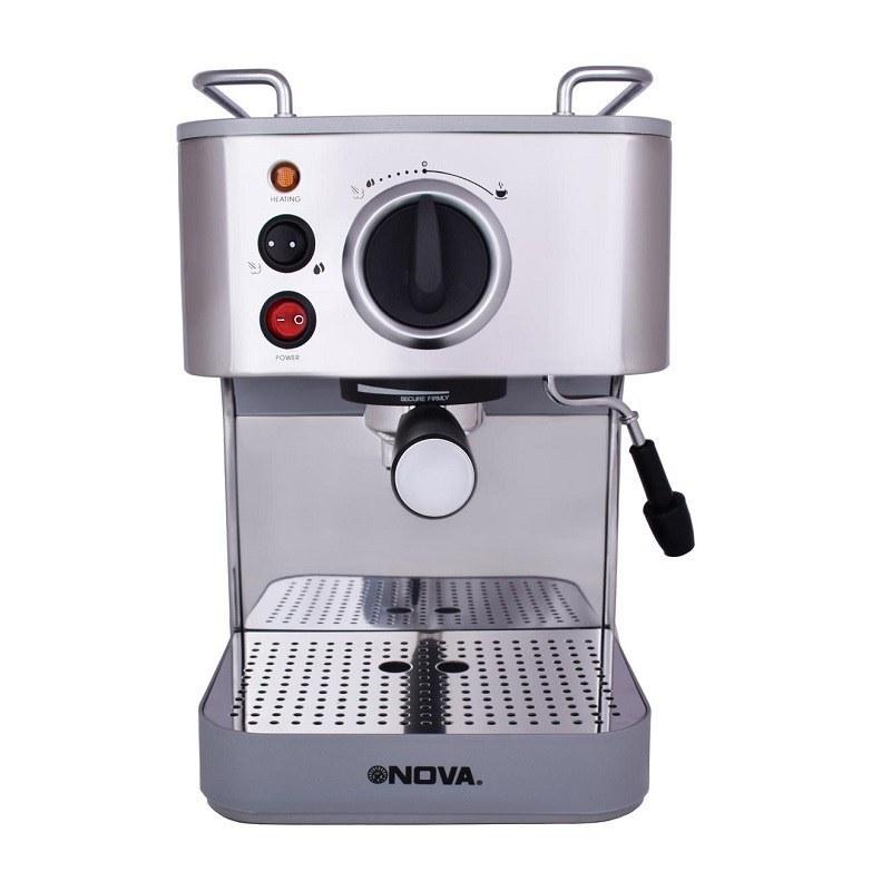 تصویر اسپرسوساز نوا 1000 وات NOVA NCM-140EXPS NOVA portafilter Espresso Maker 1000W NCM-140EXPS
