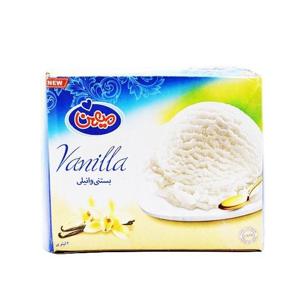 تصویر میهن-بستنی ونیلی دو لیتری