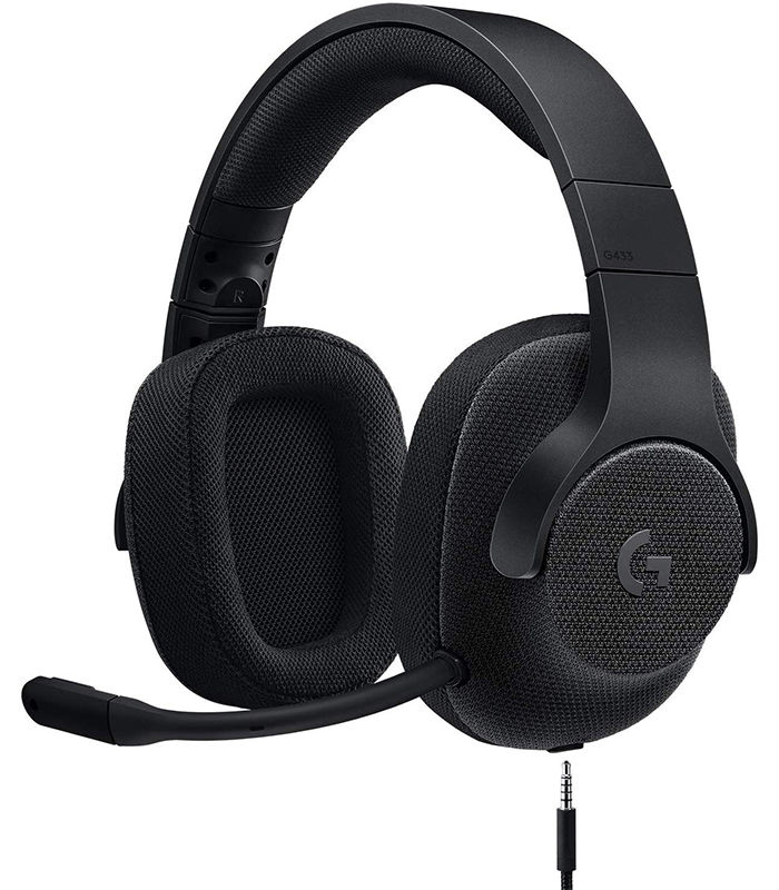 عکس هدست گیمینگ لاجیتک G433 7.1 Surround Red Logitech G433  7.1 Surround Red Gaming Headset هدست-گیمینگ-لاجیتک-g433-71-surround-red