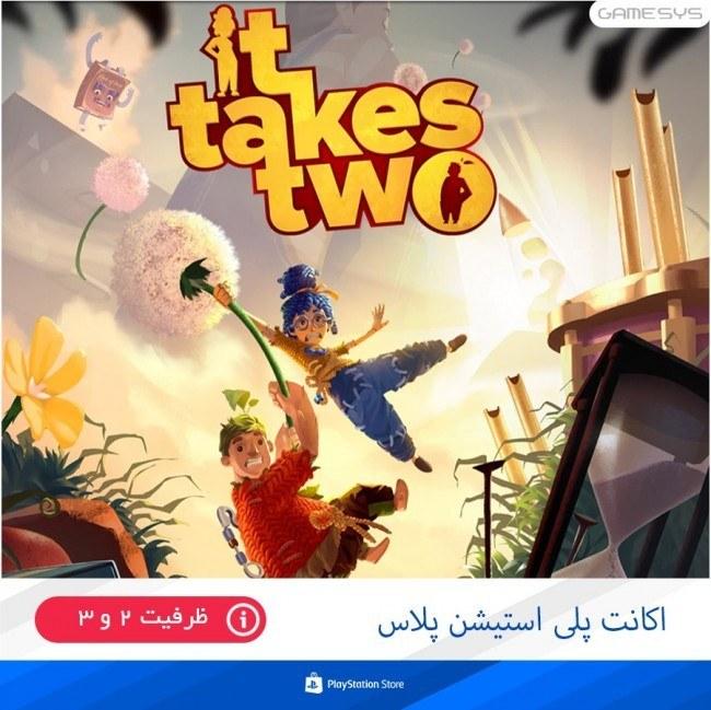 تصویر خرید اکانت قانونی بازی It Takes Two برای PS4|PS5 اکانت ظرفیتی بازی It Takes Two مخصوص PS5|PS4
