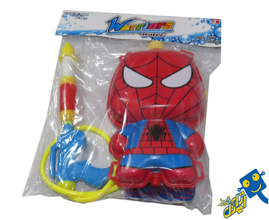 تفنگ آب پاش مدل مرد عنکبوتی  