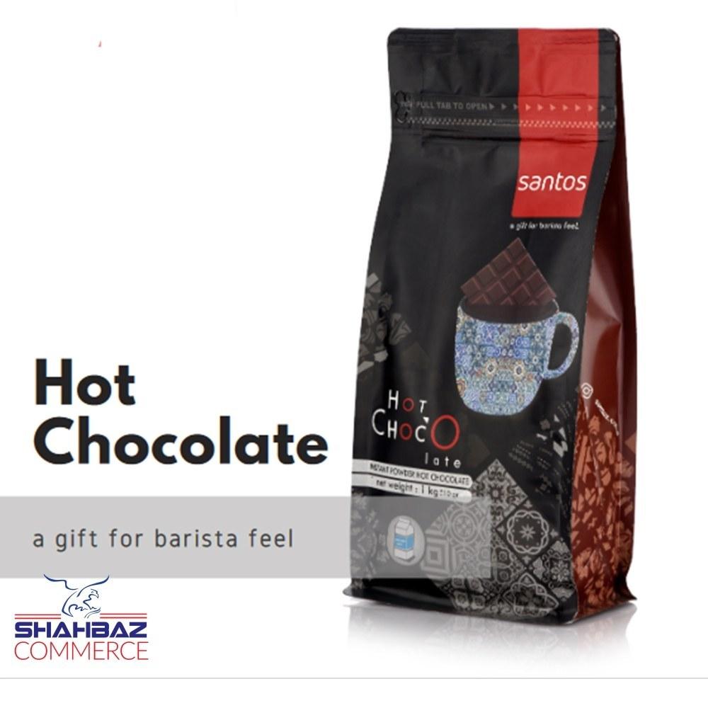 تصویر پودر شکلات داغ (هات چاکلت) یک کیلویی سانتوس