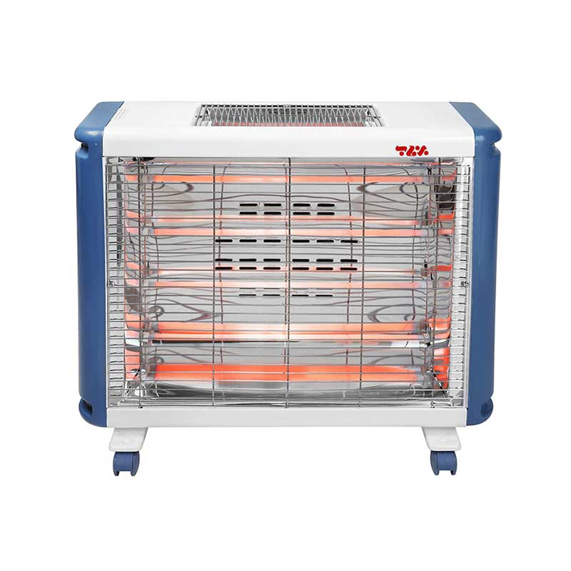 تصویر خرید بخاری برقی فن دار برفاب Barfab QH-3000 Fan Heater Barfab QH-3000 Fan Heater