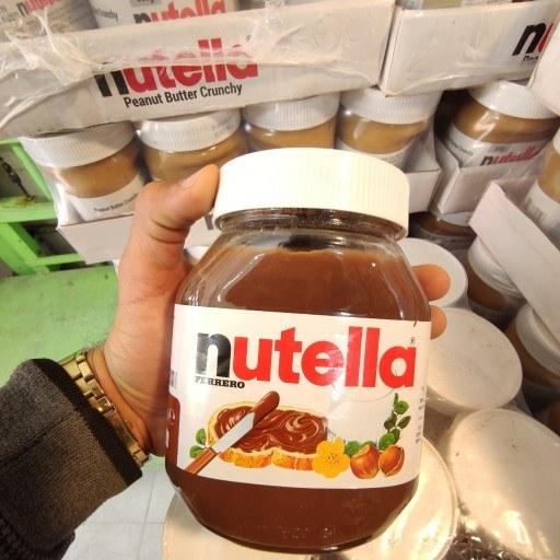 تصویر شکلات صبحانه نوتلا 750گرم ایتالیایی nutella