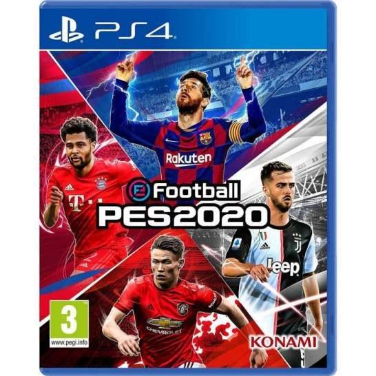 دیسک بازی EFootball PES 2020 مخصوص PS4