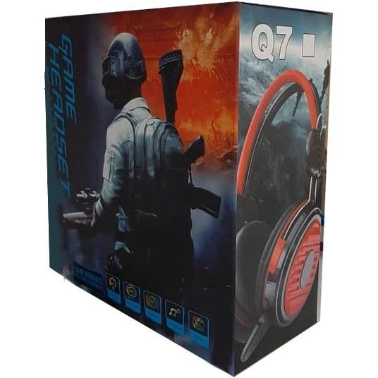 عکس هدست باسیم GAME مدل Q7  هدست-باسیم-game-مدل-q7