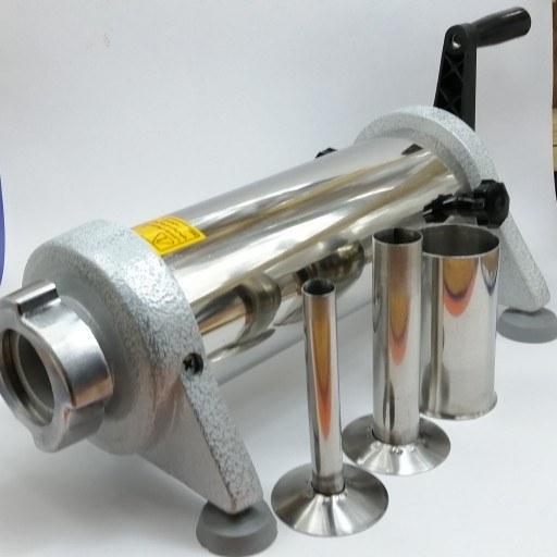 سوسیس ساز صنعتی ـ بدنه استیل ضد زنگ (سایز متوسط، 2 کیلویی)