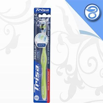 مسواک پروفیلاک وایت تریزا Trisa Profilac White Toothbrush