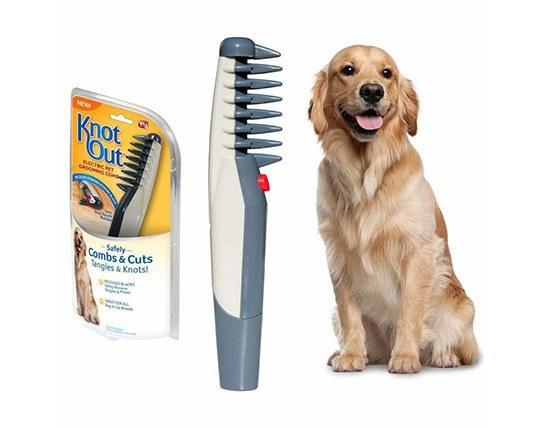 شانه برقی مخصوص نظافت موی حیوانات