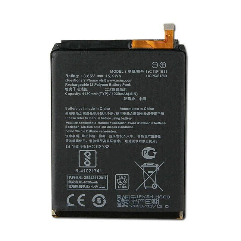 تصویر باتری موبایل ایسوس zenfone 3 max مدل C11p1611 با ظرفیت 4130mAh