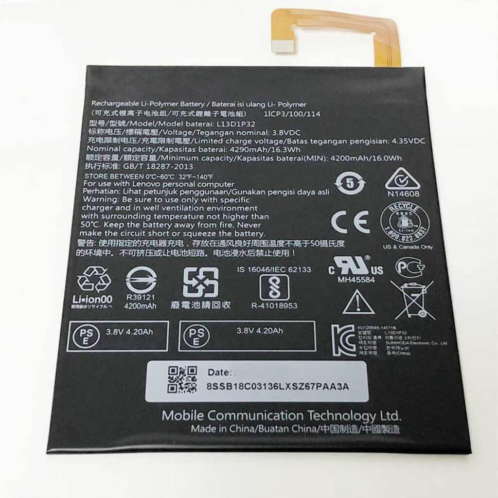 image باتری لنوو Lenovo Tab S8 مدل L13D1P32 battery Lenovo Tab S8 model L13D1P32
