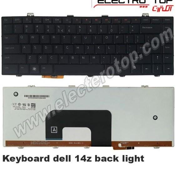 تصویر Laptop Keyboard Dell 14z with Back Light کیبورد لپ تاپ دل ۱۴z با بک لایت