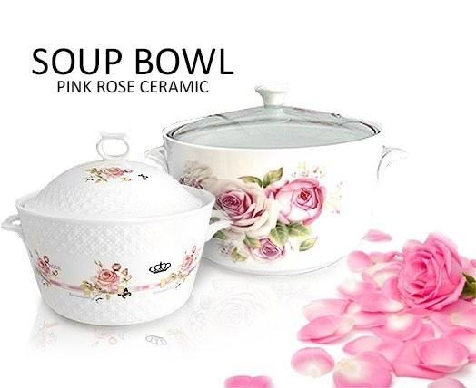 قابلمه سرامیکی سایز متوسط Soup Bowl