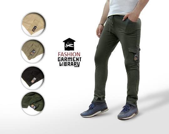 شلوار اسلش مردانه Fashion Garment