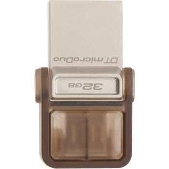 main images فلش مموری کینگستون مدل دی تی دوئو با ظرفیت 32 گیگابایت KingSton microDuo DTDUO USB 3.0 OTG Flash Memory 32GB