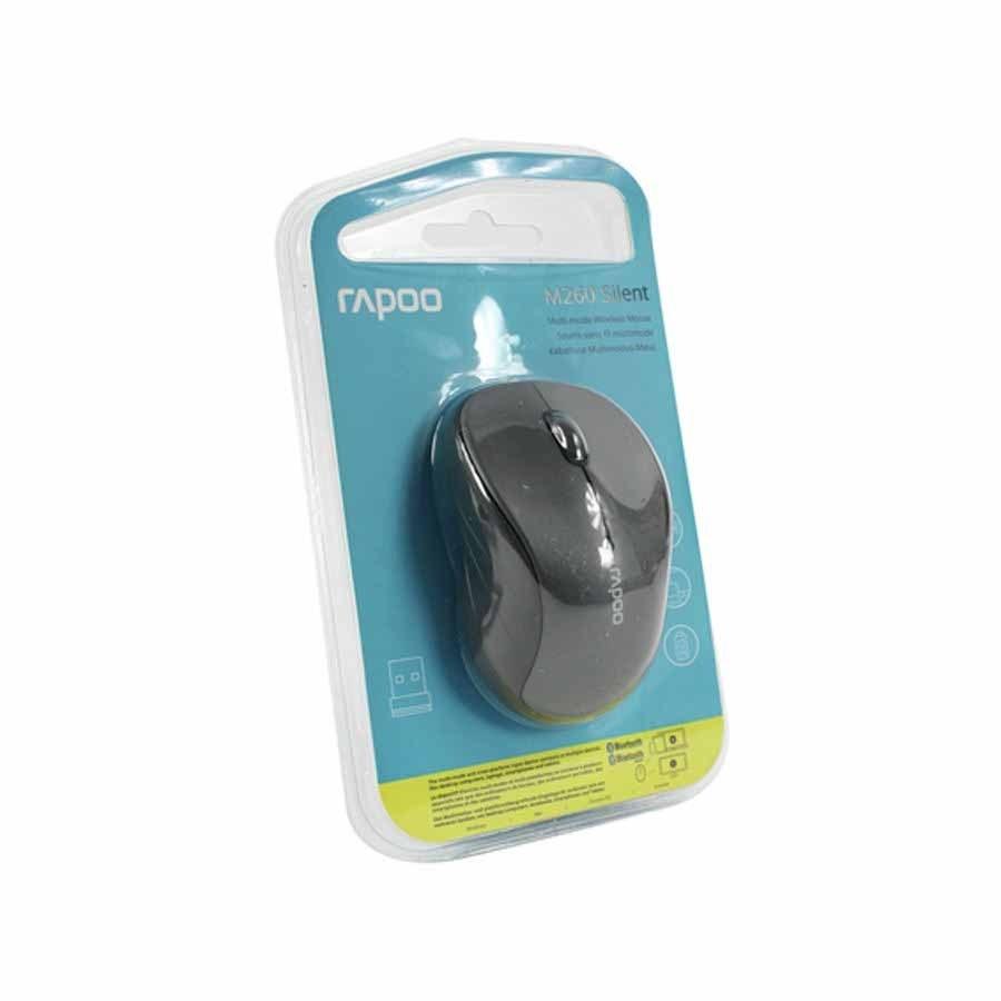 تصویر موس بی سیم رپو مدل Mouse Wireless RAPOO M260 SILENT MOUSE WIRELESS RAPOO M260 SILENT