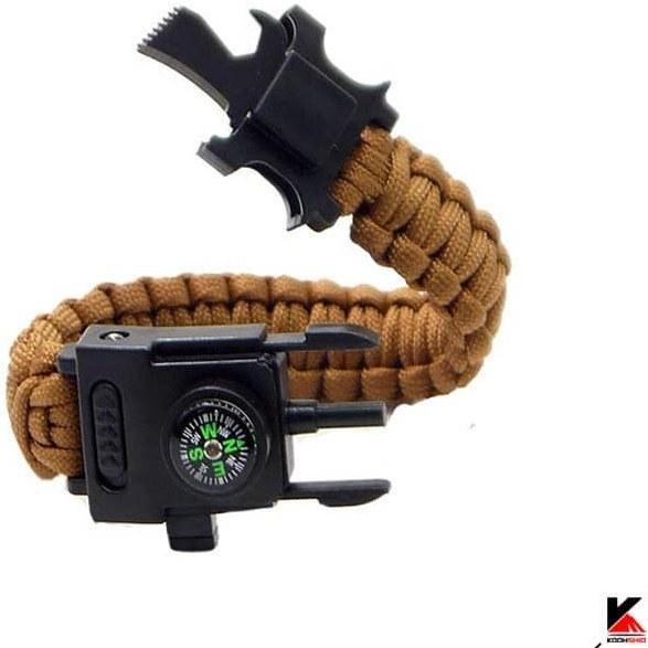 تصویر دستبند نجات پاراکورد چراغ بغل