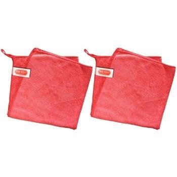 دستمال حوله ای حرفه ای مایکروفایبر تام کلین مدل TC-mfl300rx2 بسته 2 عددی | Tam Clean Tc-MFL300rx2  Microfiber Cloth