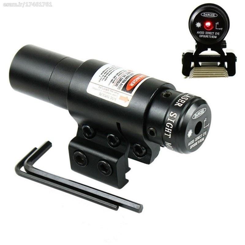 تصویر لیزر اسلحه تک تیرانداز