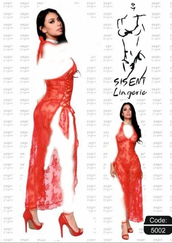 لباس خواب زنانه کد ۵۰۰۲ Sisent Linqerie |