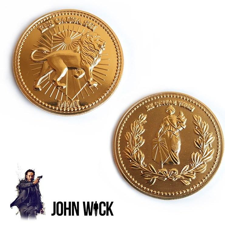 تصویر سکه طلا جان ویک