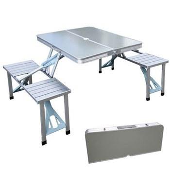 مجموعه میز و صندلی سفری 4 نفره مدل 001 |