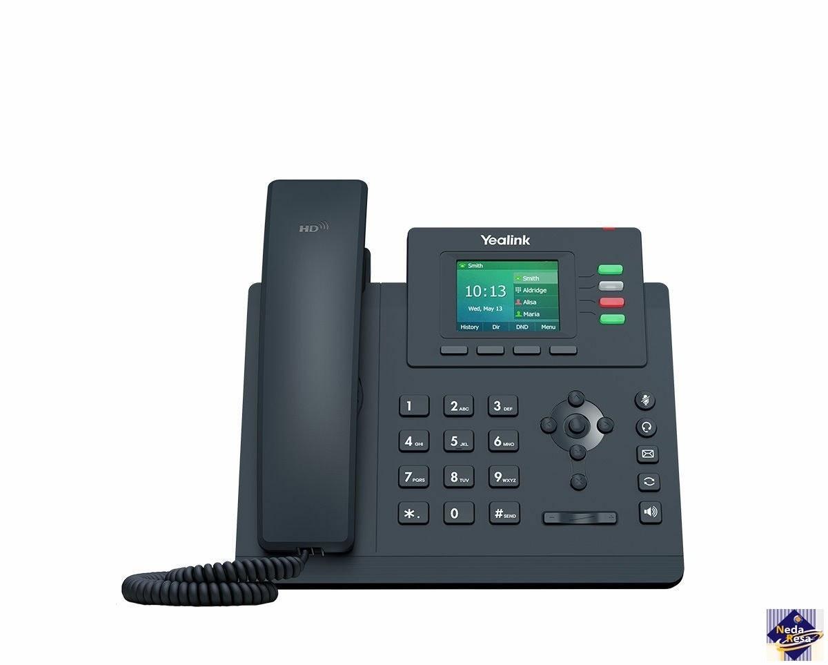 تصویر تلفن تحت شبکه یالینک مدل SIP-T33P