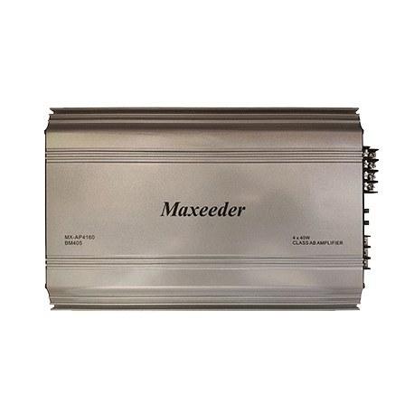 تصویر Maxeeder MX-AP4160BM405 Car Amplifier