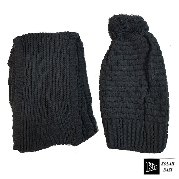 image شال و کلاه بافت مدل shk64 Textured scarf and hat shk64