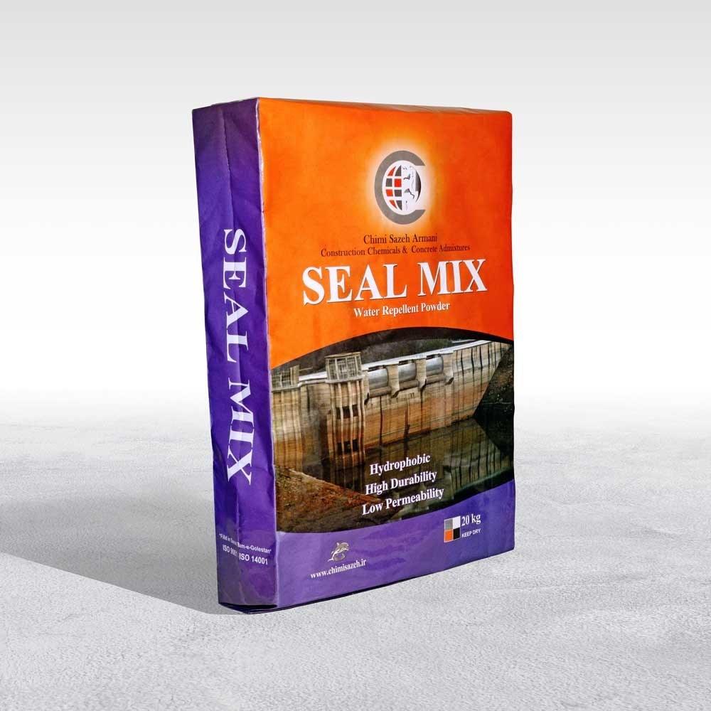 تصویر واتـرپـروف بتـن (پودری) (20 کیلوگرمی) SEAL MIX