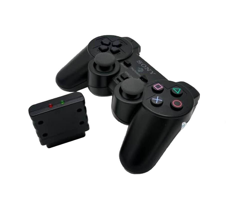 تصویر دسته بی سیم پلی استیشن  ۲ / ۱ Dualshok 2 Wireless gamepad
