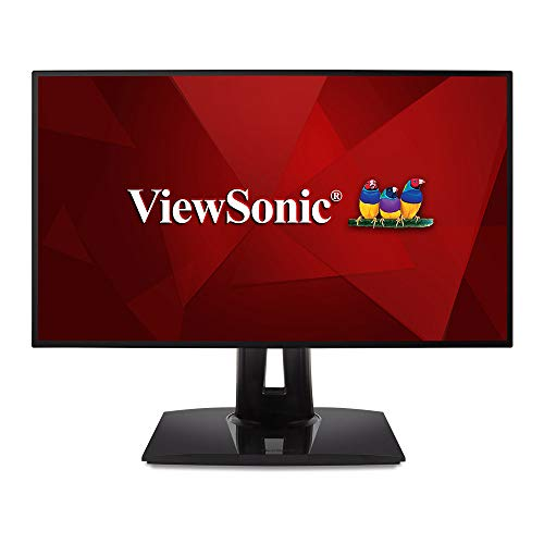 مانیتور ViewSonic VP2458 Professional 24 اینچ 1080p با دقت 100٪ sRGB Delta E <2 دقت رنگ برای خانه و محل کار