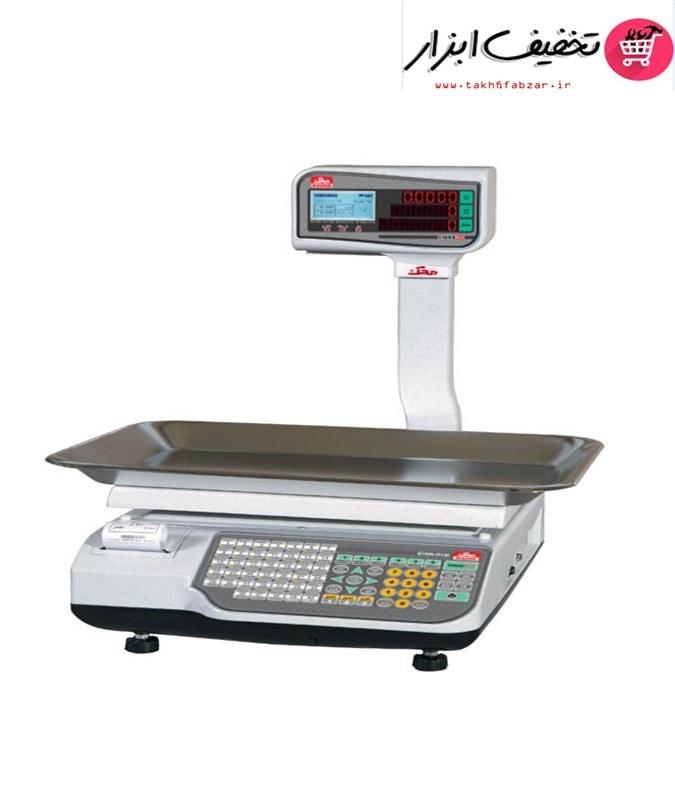 تصویر ترازو فروشگاهی جدید محک مدل 15000plus Mahak Shopping Scale 15000plus
