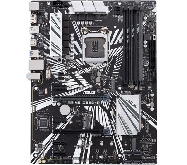 تصویر مادربرد ایسوس مدل PRIME Z390-P ASUS PRIME Z390-P LGA 1151 Motherboard
