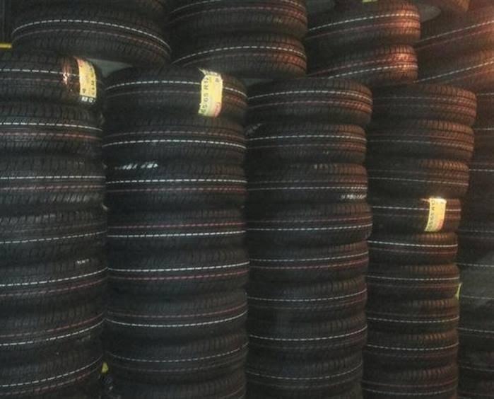 لاستیک خودرو کویر تایر مدل سبز درجه یک سایز 165/65/13 - دوحلقه |