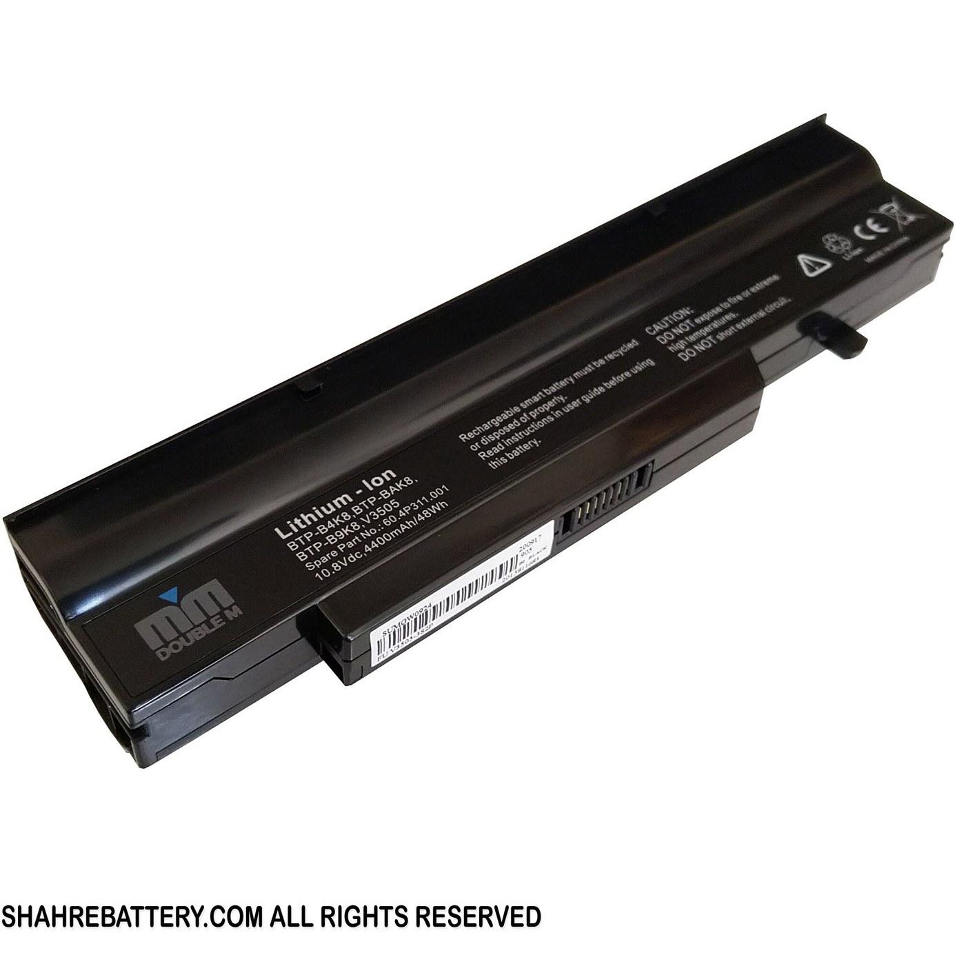 تصویر باتری لپ تاپ فوجیتسو Fujitsu BTP-BAK8