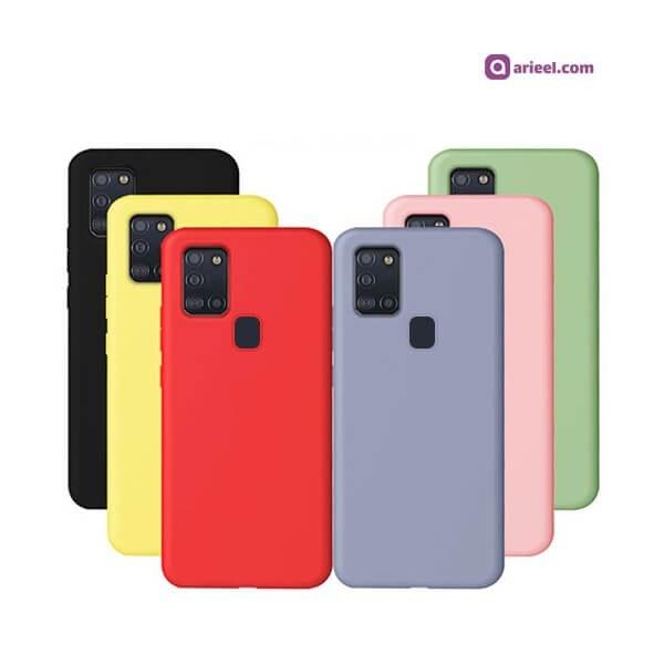 تصویر کاور سیلیکونی مناسب برای گوشی Samsung Galaxy A21s