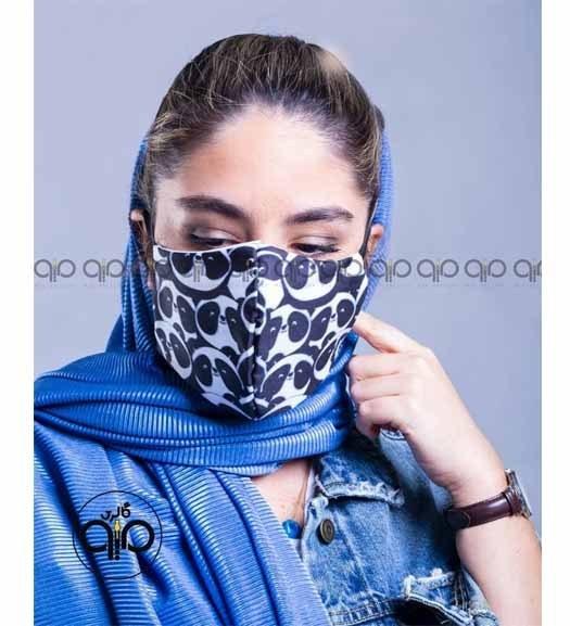 تصویر ماسک پارچه ای طرح پاندامیو ا Mio Sanitary Mask Mio Sanitary Mask