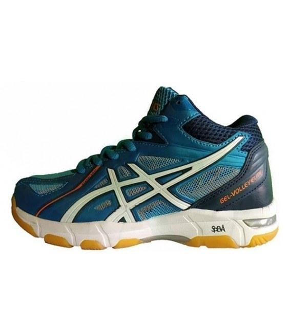 کفش والیبال زنانه اسیکس Asics Gel Volley Elite 2 Blue