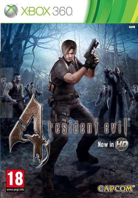 تصویر خرید بازی اویل Resident Evil 4 برای XBOX 360