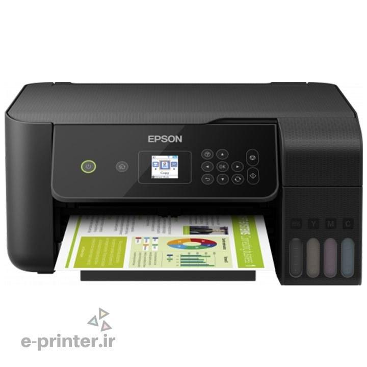 تصویر پرینتر چندکاره جوهرافشان اپسون مدل L3160 Epson L3160 Multifunction Inkjet Printer