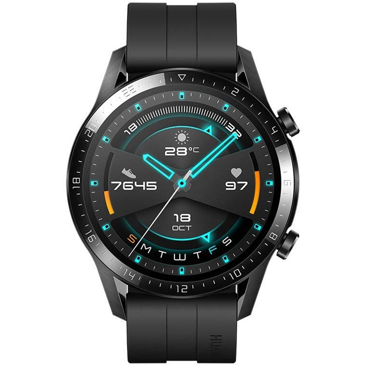 ساعت هوشمند هوآوی مدل Watch GT 2 LTN-B19 46mm با گارانتی مدیاپردازش