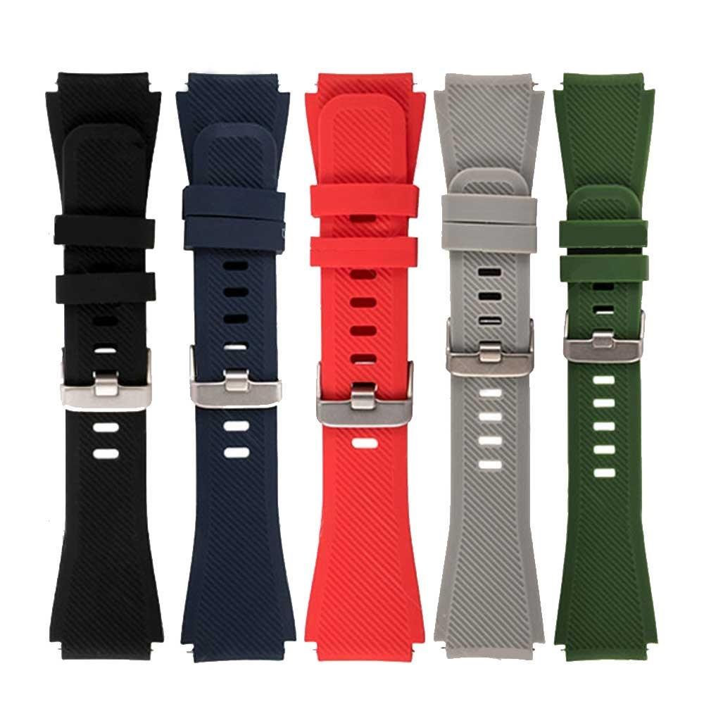 تصویر بند سیلیکونی ساعت هوشمند سامسونگ Gear Silicon Watch Band for 22mm