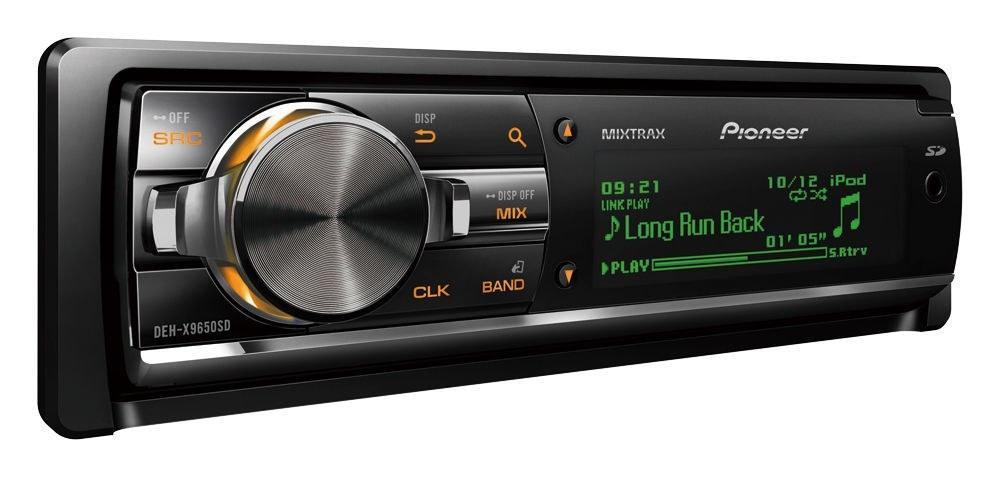 پخش کننده خودرو پایونر مدل دی ای اچ ایکس ۹۶۵۰ اس دی | Pioneer DEH-X9650 SD Car Audio Player